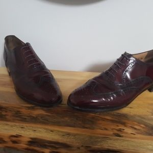Salvatore Ferragamo wingtip dress shoes size 9
